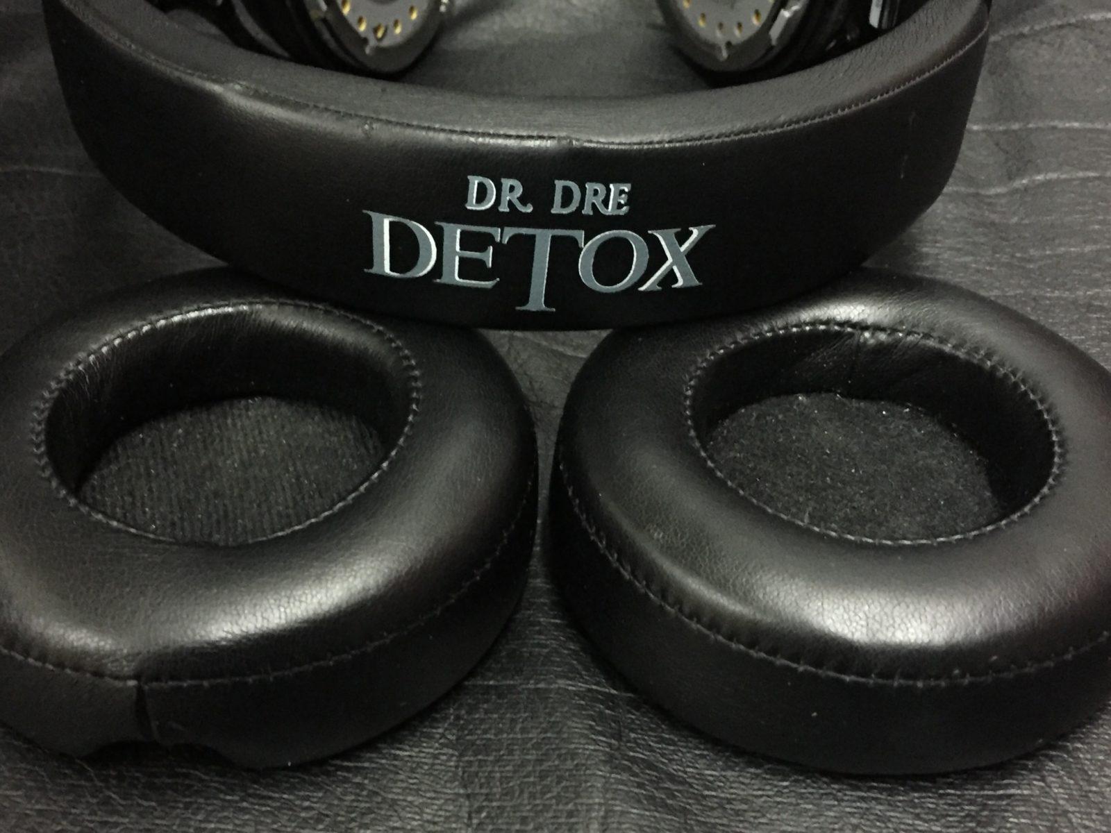 Восстановление кожи амбушюр (подушек) в наушниках Beats Dr. dre detox