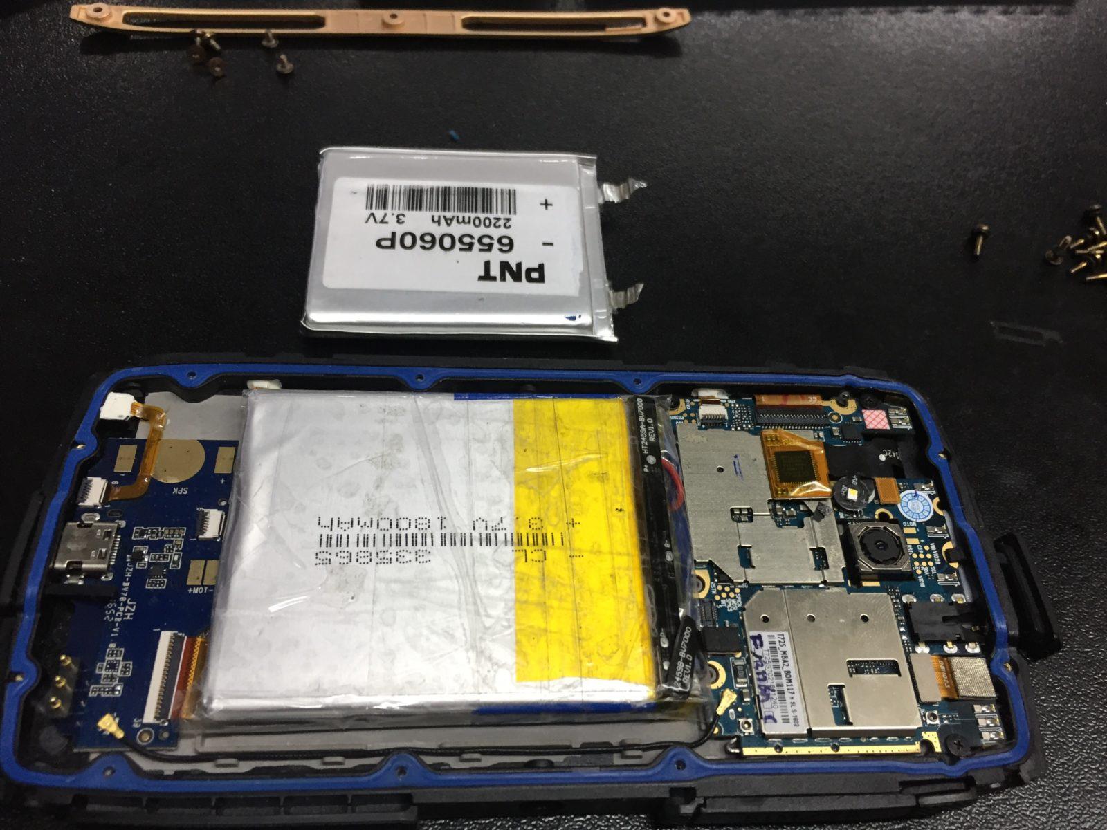 Blackview BV7000 Pro и аккумуляторная батарея. Замена банки