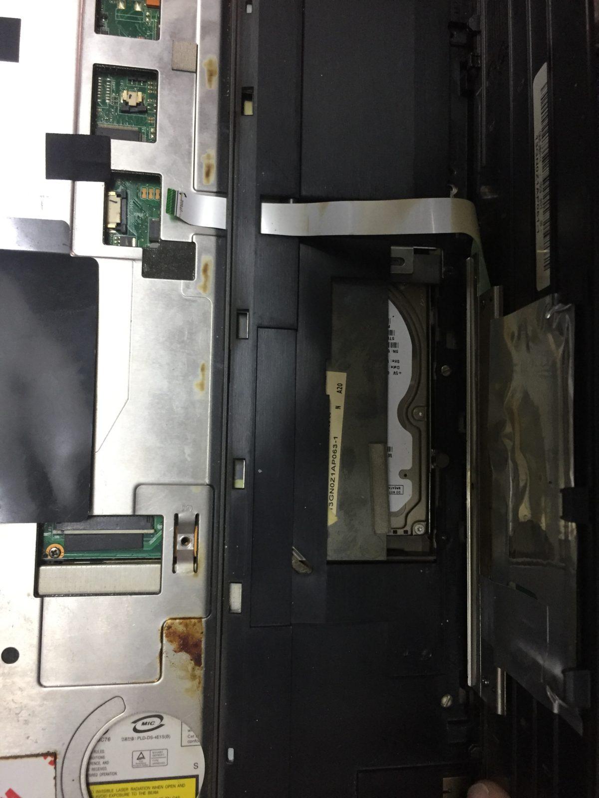 Разборка ноутбука ASUS G53 и замена термопасты