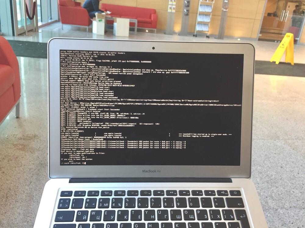 Забыли пароль на MacBook или Mac? - поможем снять пароль