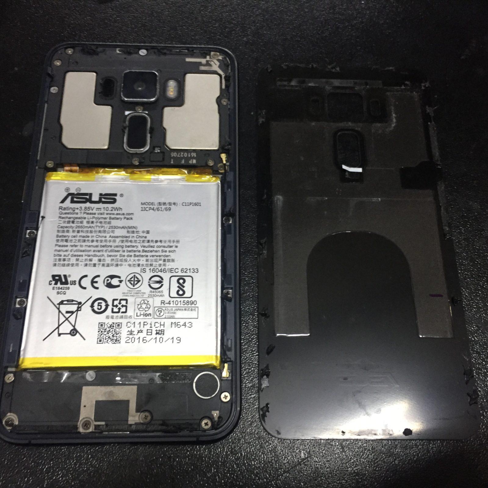 Ремонт Asus ZenFone 3. Замена экрана на примере z017da ze520kl