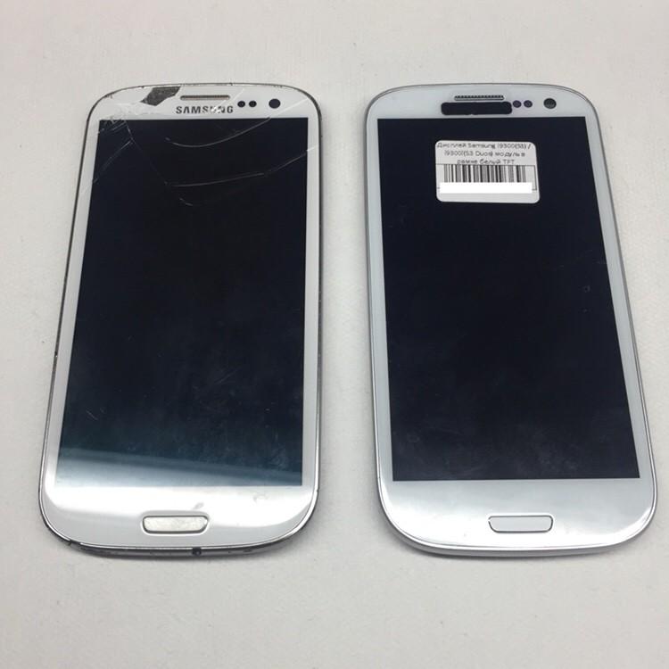 Замена дисплея Galaxy S3. Дешевый TFT экран для Samsung S3 i9300 и S3 dual i9300i