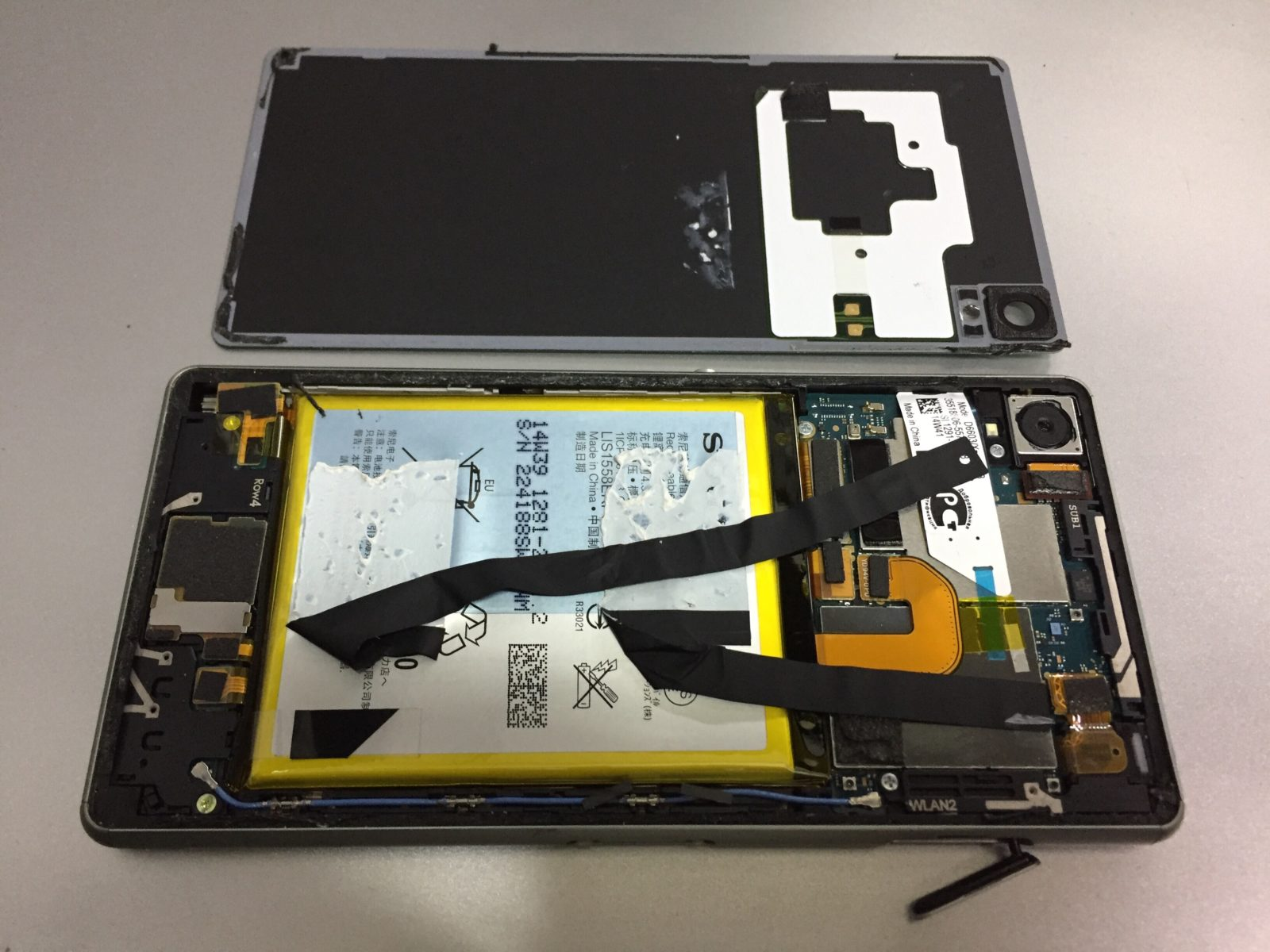 Замена оригинального аккумулятора Sony Xperia Z3 D6603 (LIS1558ERPC)