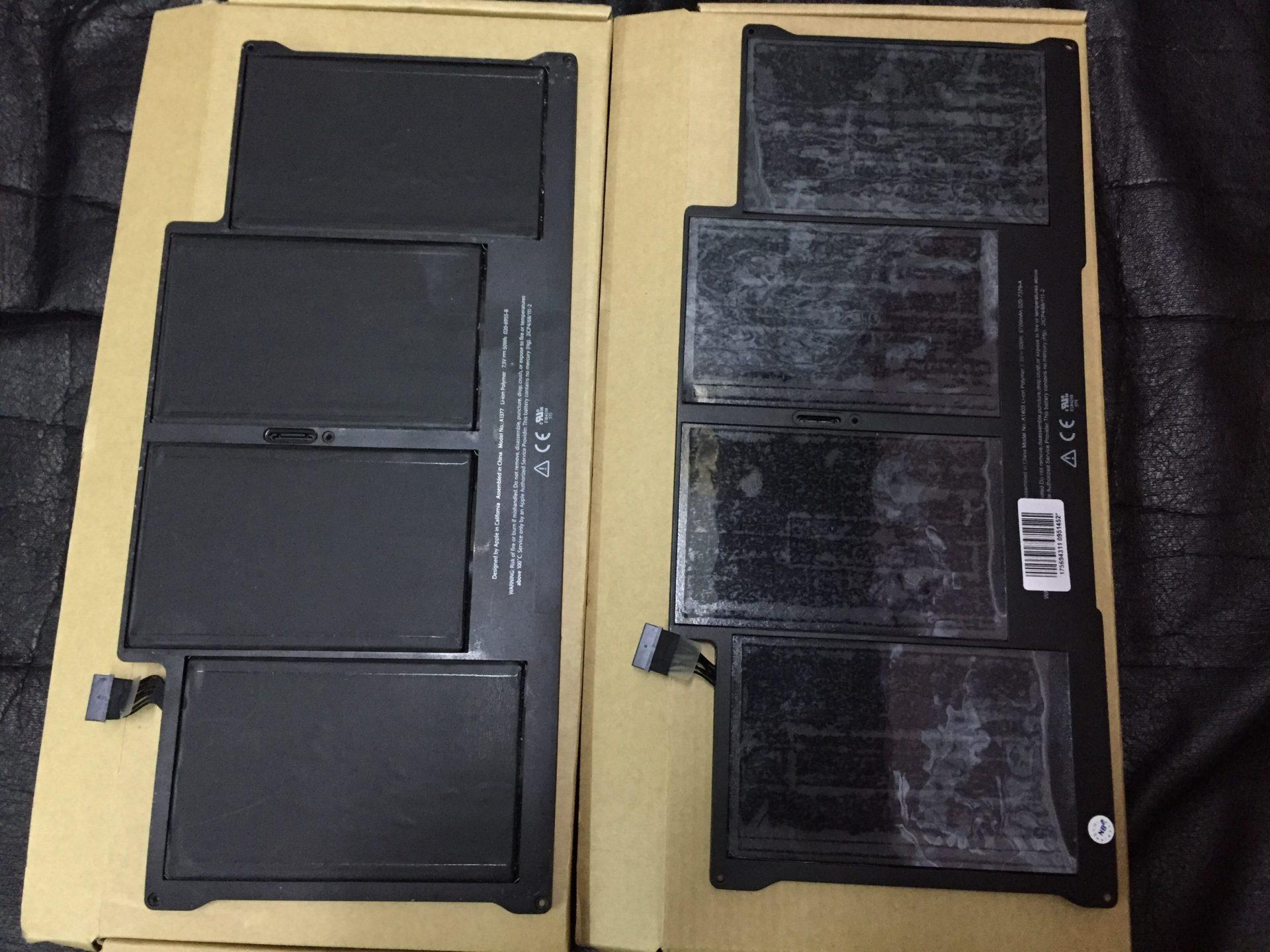Ремонт MacBook Air с выездом мастера в картинках. Замена АКБ