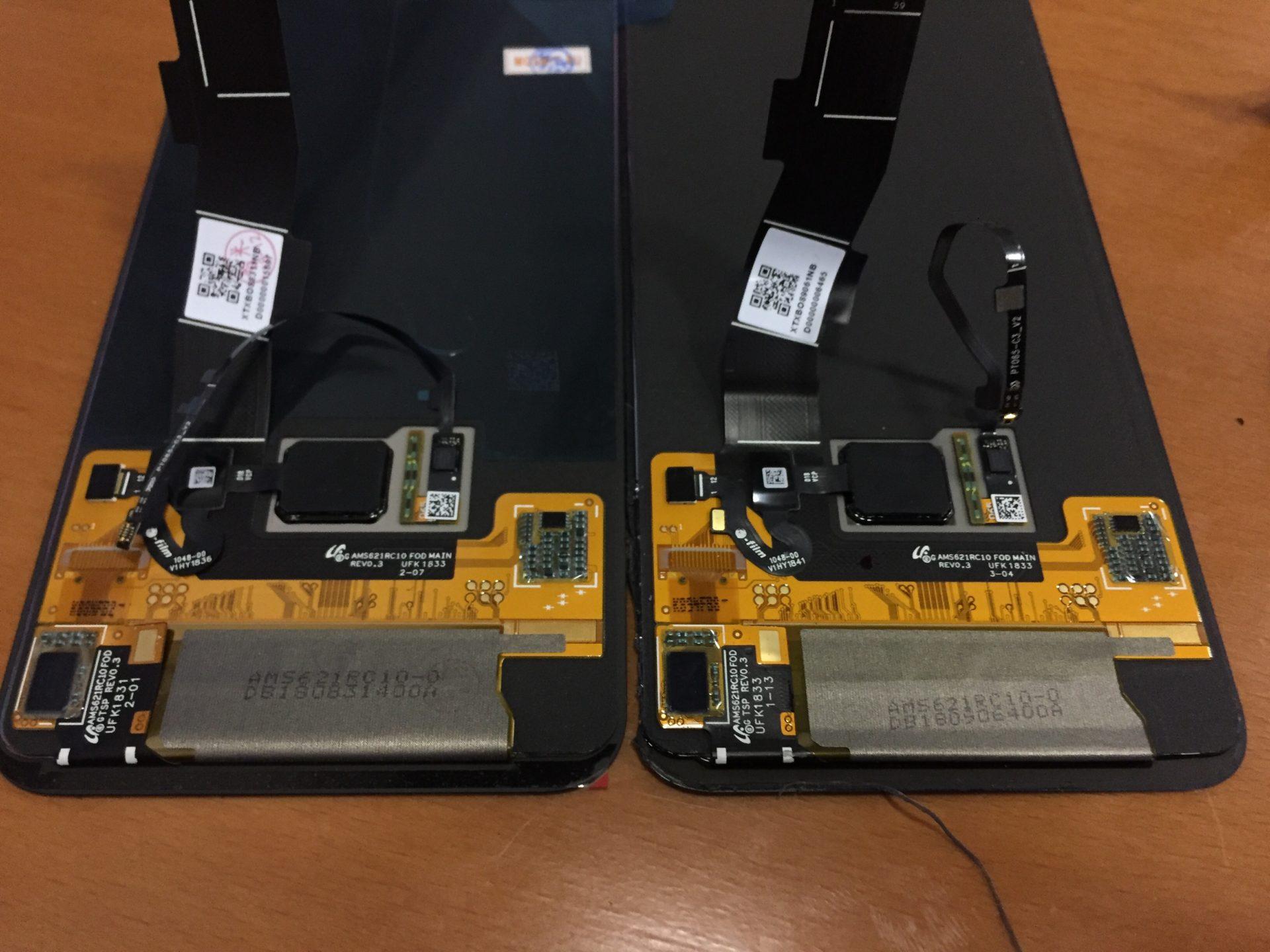 Xiaomi Mi 8 Pro - разбилось стекло и пропало изображение. Разборка и замена дисплея