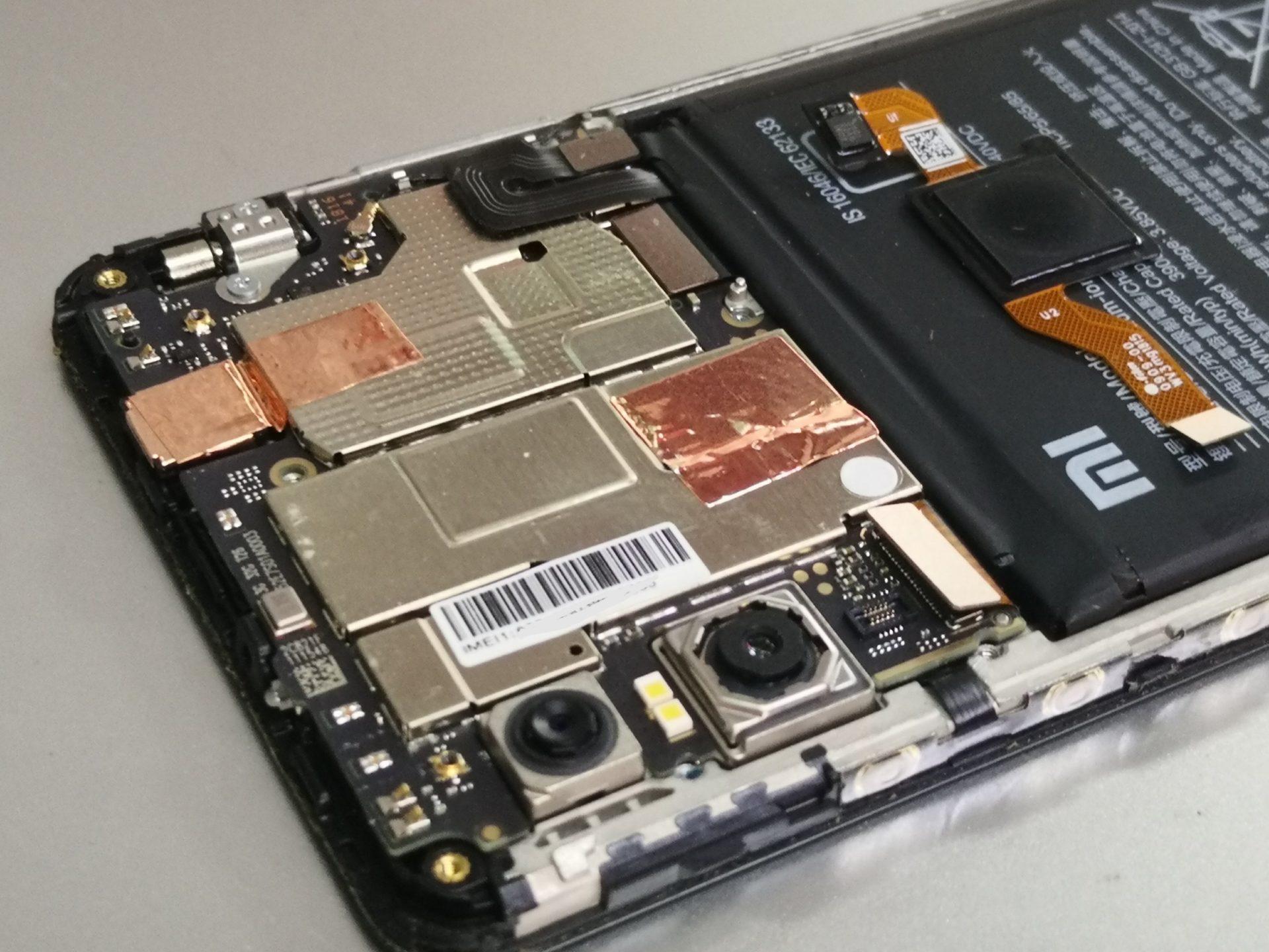 Redmi Note 5 и замена фронтального динамика