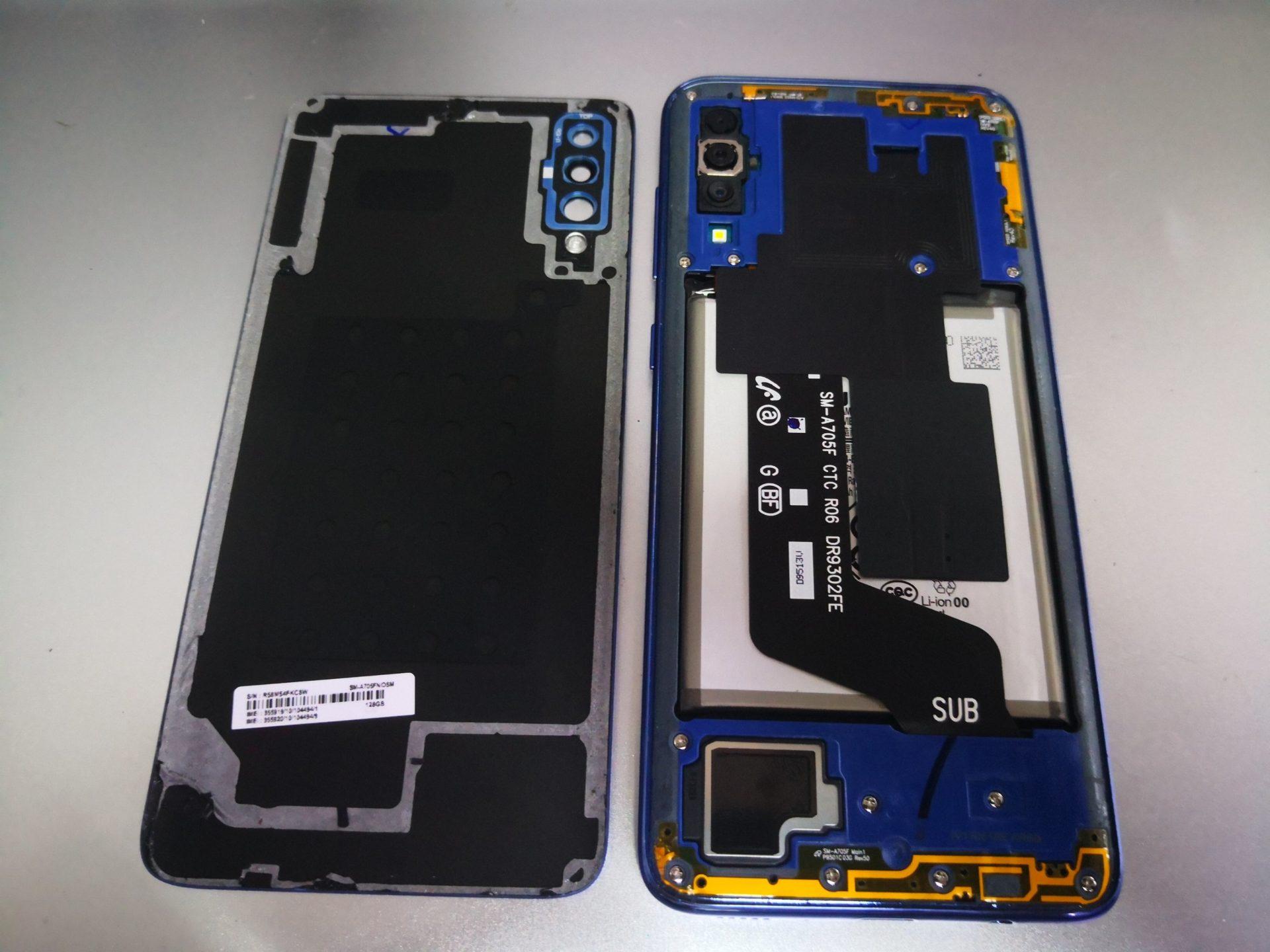Samsung A705 (A70) Нет изображения - замена дисплея