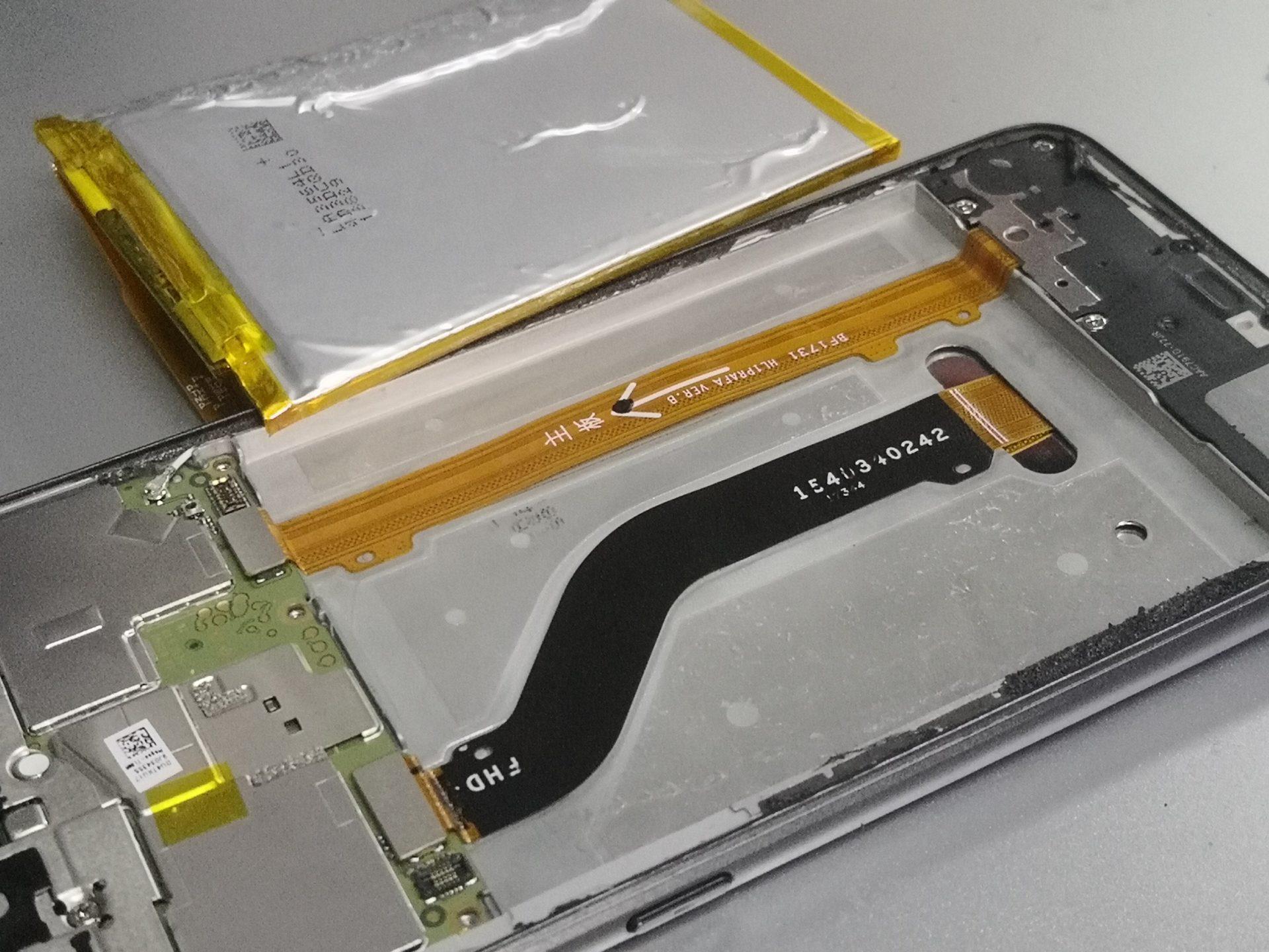 Honor 8 Lite выключается - замена аккумулятора
