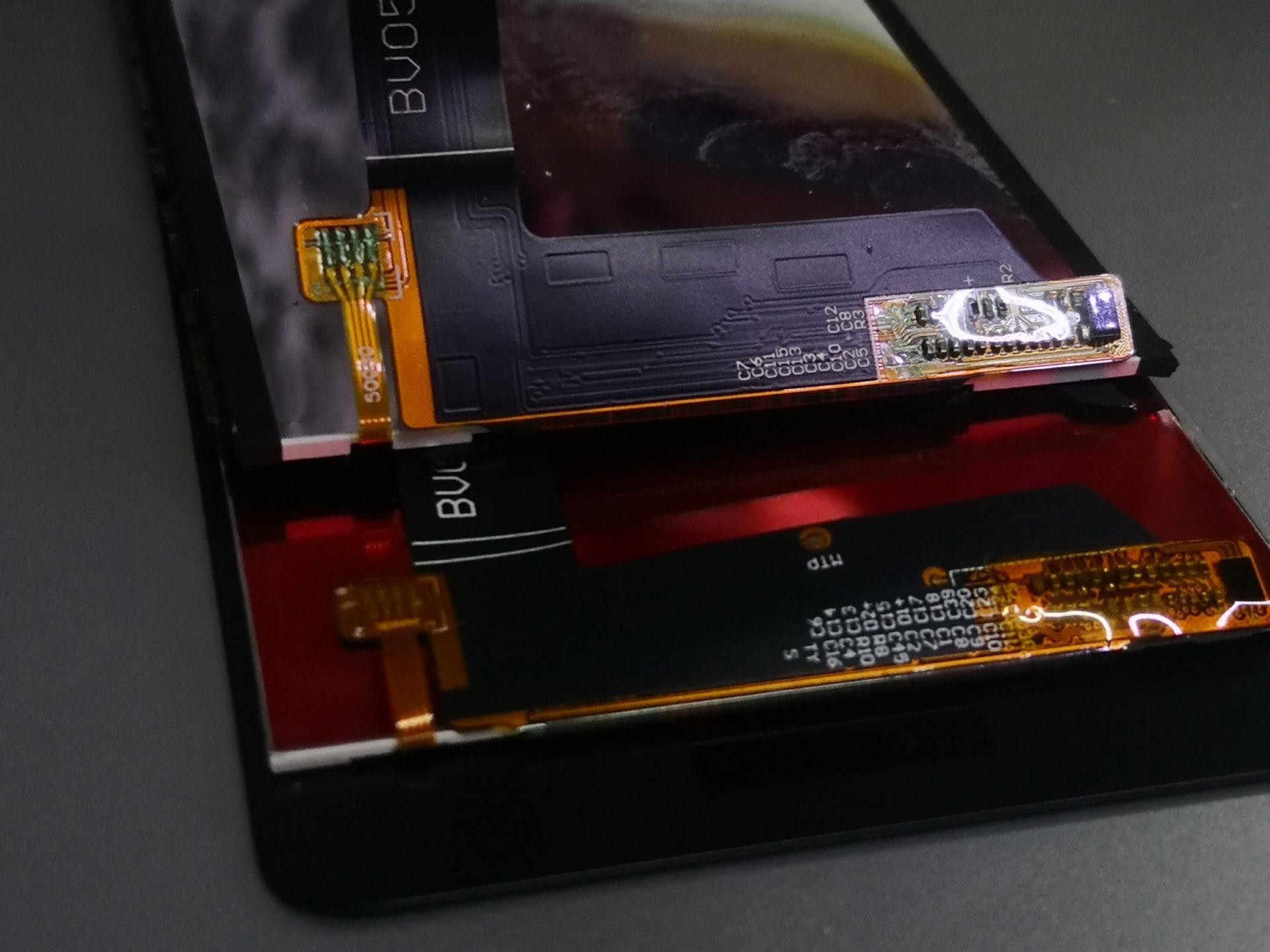 Honor 6c - разбилось стекло - замена дисплея