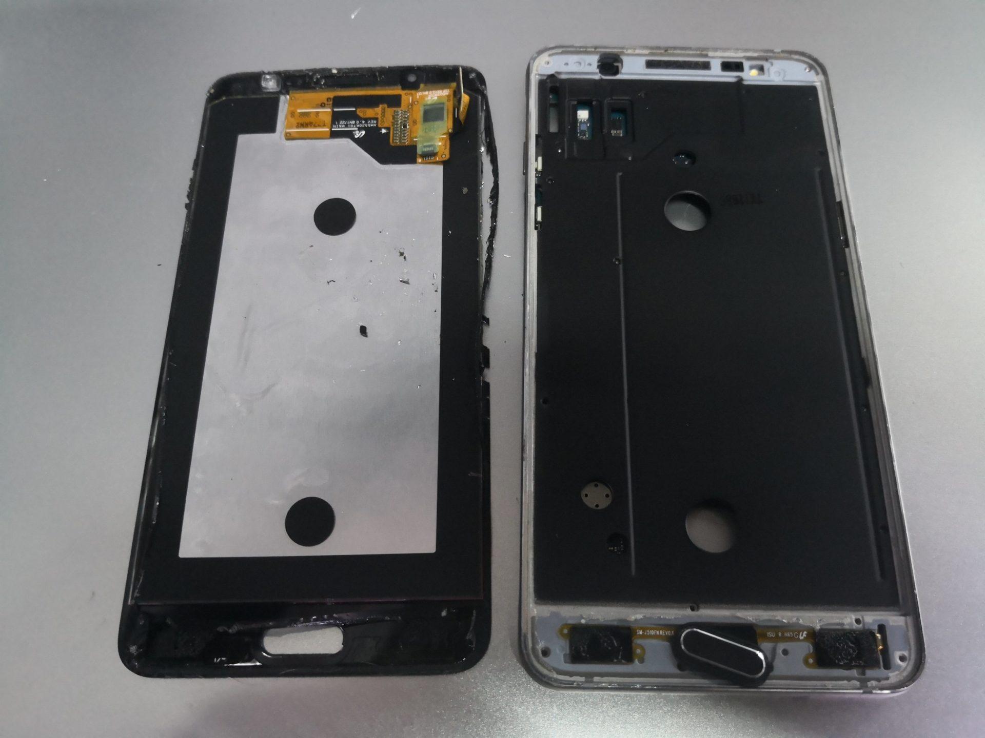 Samsung J510 (J5 2016)  и дисплей TFT copy